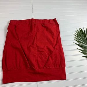 Torrid Red Strapless Tube Top Womens 2X